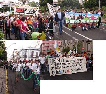 Manifestación 24-Nov 2007: ¡ES POSIBLE OTRO MODELO DE DESARROLLO VERDE!.