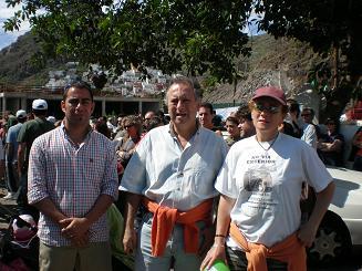 LOS CANDIDATOS VERDES ACUDEN A LA MANIFESTACIÓN CONTRA LA CONSTRUCCIÓN EN LAS TERESITAS