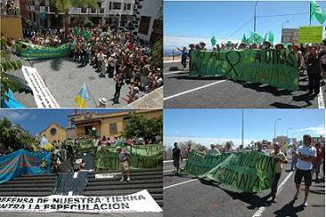 MANIFESTACIÓN SOCIAL: NO AL ANILLO & SI A OTRAS ALTERNATIVAS